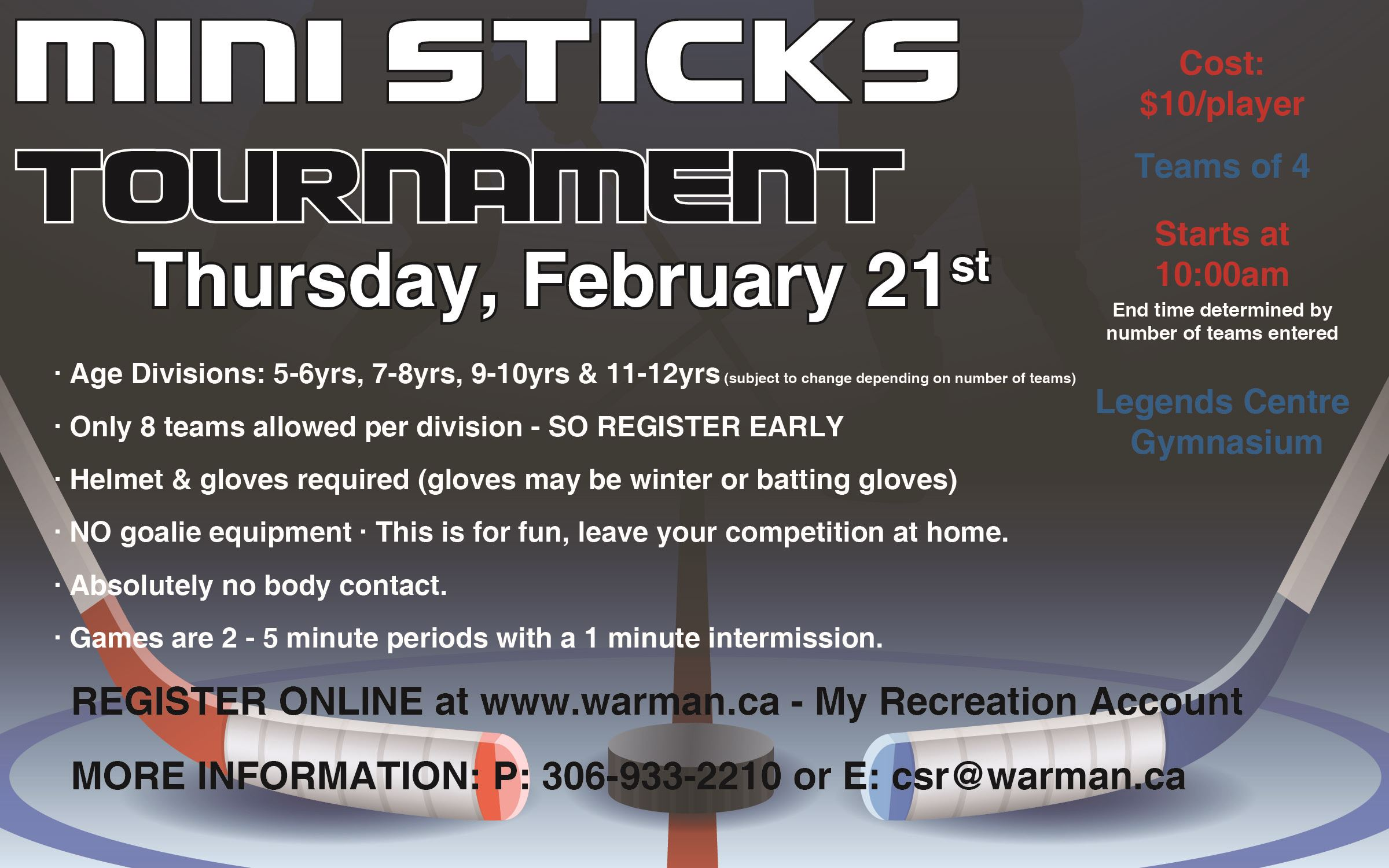 mini sticks tourney 2019